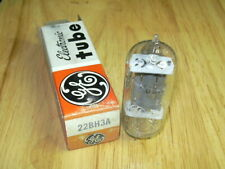 New Nos Ge 22Bh3A Vacuum Tube*D
