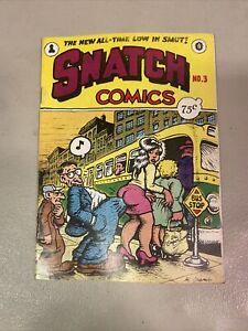 Robert Crumb Snatch Comics No. 3 August 1969 1st