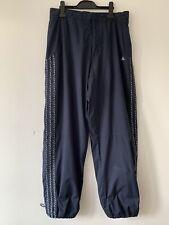 Men's Adidas Windbreaker Trousers Navy Blue Size Medium