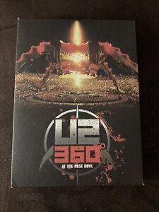 DVD Concert Live U2 360° AT THE ROSE BOWL