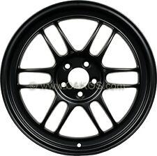 "ENKEI RPF1 Wheels 17x9"" 5x114.3 45mm Offset MATTE BLACK Rims 379-790-6545BK"