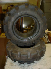 (2) Challenger Extra Duty 400 X 6 Forklift Tires New