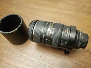 Nikon NIKKOR AF 80-400mm f/4.5-5.6 VR ED Lens Excellent