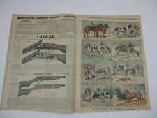Le petit journal 1897 351 gravure type de chiens de chasse courants