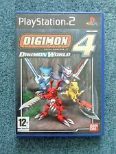 Sony PlayStation 2 PS2 DIGIMON 4 DIGITAL MONSTERS WORLD Bandai Video Game