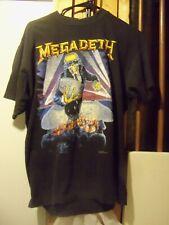 Vintage 1990 Megadeth Rust In Peace Band Shirt Berlin Wall XL Metal Super Rare