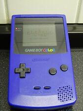 Nintendo Game Boy Color Handheld-Spielekonsole - Lila mit 7 GameBoy-Spielen