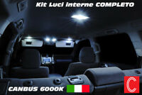 KIT LED INTERNI FIAT TIPO ANTERIORE + POSTERIORE 6000K NO ERROR