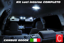 KIT FULL LED INTERNI CITROEN C3 II PLAFONIERE ANT+POST+BAGAGLIAIO CANBUS
