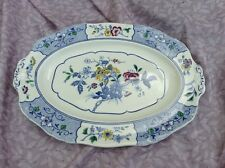 "Alfred Meakin 'Harmony Shape' ""Meadow"" Meat Plate lovely"