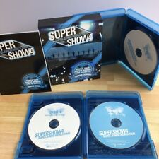 SUPER JUNIOR WORLD TOUR SUPER SHOW4 LIVE in JAPAN 3 Blu-ray BOX Free shipping