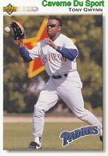 274 TONY GWYNN SAN DIEGO PADRES BASEBALL CARD UPPER DECK 1992