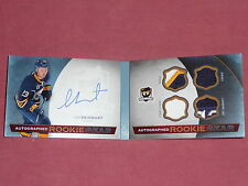 14-15 THE CUP Sam Reinhart Autograph Booklet Rookie Gear /25 AUTO RC Tag Strap