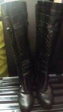 chaussure botte noire à talons femme pointure 40 bon état