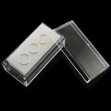 22G 9K Gold Seamless Nose Hoop Ear Tragus Ring Yellow,White and Rose Gold in Box