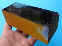 100 % real high quality Bakelite Catalin Dice Rod Block  480 grams  34