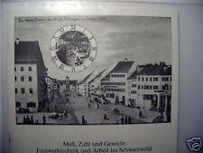 Maß Zahl Gewicht Feinwerktechnik Arbeit Schwarzwald
