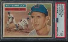 1956 Topps White Back #123 Roy McMillan  PSA 7  NM 55700