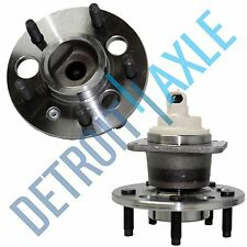 Both (2) Brand New Complete Rear Wheel Hub & Bearing Assembly Buick Chevy w/ABS