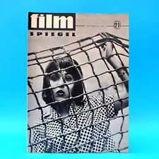 DDR Filmspiegel 21/1964 Eberhard Esche Helena Majdaniec Gerhard Jäckel Ägypten