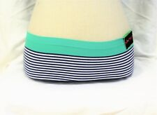NWT Steve Large Striped Panties Hipster Boy Shorts Lace Underwear Bikini Briefs