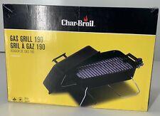 CHAR-BROIL Tabletop Gas Grill NEW IN BOX 11,000 BTU #190 Black