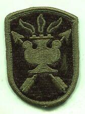 US Army JFK Special Warfare School OD Subdued Patch