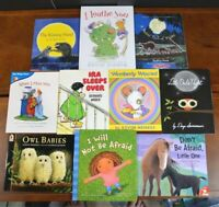 Set of 10 Picture Books About Separation Anxiety Change Starting School Brave L3