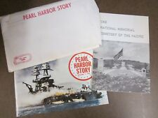 The Pearl Harbor Story Hawaii Tourist Booklets 1973 USS Arizona Dec. 7, 1941