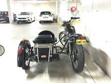 Yamaha SR400 with sidecar