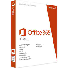 Microsoft Office 365 Pro Plus Acccount 5 PC MAC Tablett, 5TB OneDrive, LIFETIME
