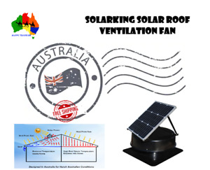 """Genuine"" SolarKing  Solar Roof Ventilation Fan (BACK IN STOCK ...HURRY!)"