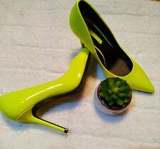 Green high heels size 5