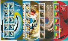 64431 -  GIBRALTAR - STAMPS - 2003  EUROPA CEPT:  Art Dance  MINIATURE SHEETS