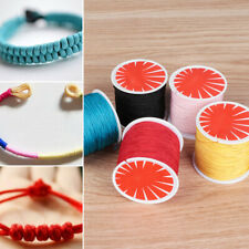 Macrame Rattail Necklace Thread Cord Braided Cords Bracelet String Chinese Knot