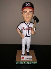 Chris Maloney 2019 Mississippi Braves Bobblehead SGA
