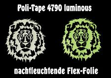 (88,02€/m²)A4 Poly-Flexfolie LUMINOUS,nachtleuchtend,glow in the dark