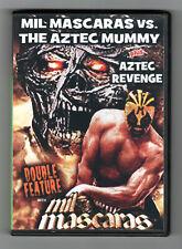 MIL MASCARAS VS THE AZTEC MUMMY + AZTEC REVENGE double feature shot in English