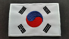 NATIONAL COUNTRY FLAG SEW ON / IRON ON PATCH:- SOUTH KOREA