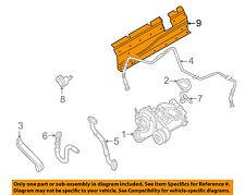 VW VOLKSWAGEN OEM 98-05 Passat Turbocharger Turbo-Air Deflector 058129585B