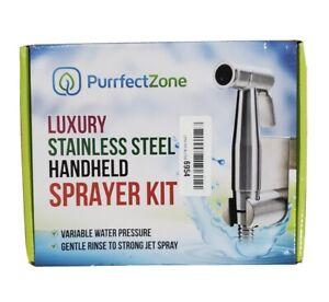 Luxury Stainless Steel Handheld Sprayer Kit - Toilet Bidet Cloth Diapers