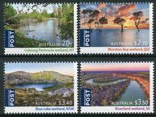More details for australia 2021 mnh landscapes stamps ramsar wetlands trees nature 4v set