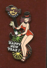 Hard Rock Cafe Chicago Happy New Year 2010 Pin