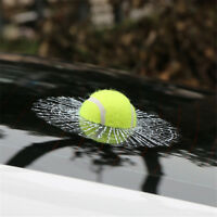 3D Tennis Ball Hits Car Stickers Funny Auto Car Body Window Self Adhesive Decal