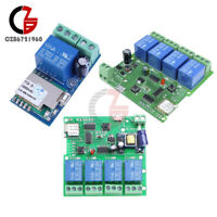 1/4 Channel DC/AC 5V/12V/220V WiFi Wireless Relay Control Switch For Smart Home