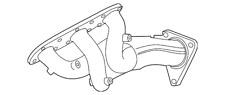 Genuine Infiniti Exhaust Manifold 14002-EY01A