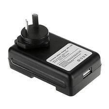 Mobile Universal Battery Charger LCD Indicator Screen For Cell Phones USB-Port S