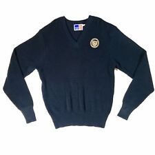 Detroit Country Day School Navy Blue Sweater by School Apparel Size Large