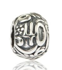 40 40th BIRTHDAY ANNIVERSARY Genuine 925 Sterling Silver Charm Bead European