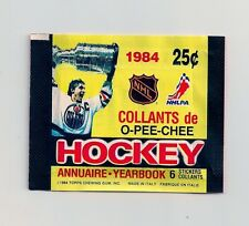 1984-85 OPC Hockey Sticker Unopened Pack - Gilmour & Yzerman Rookie Year